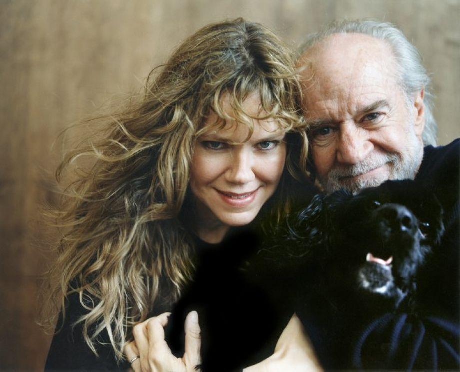 карлин с женой