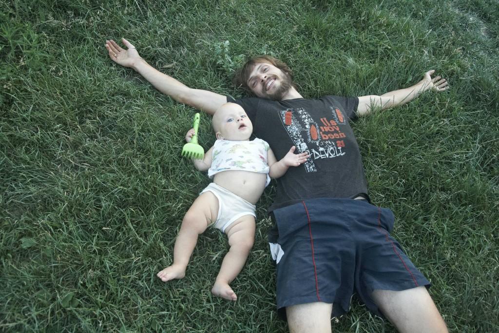Папа и сын_2