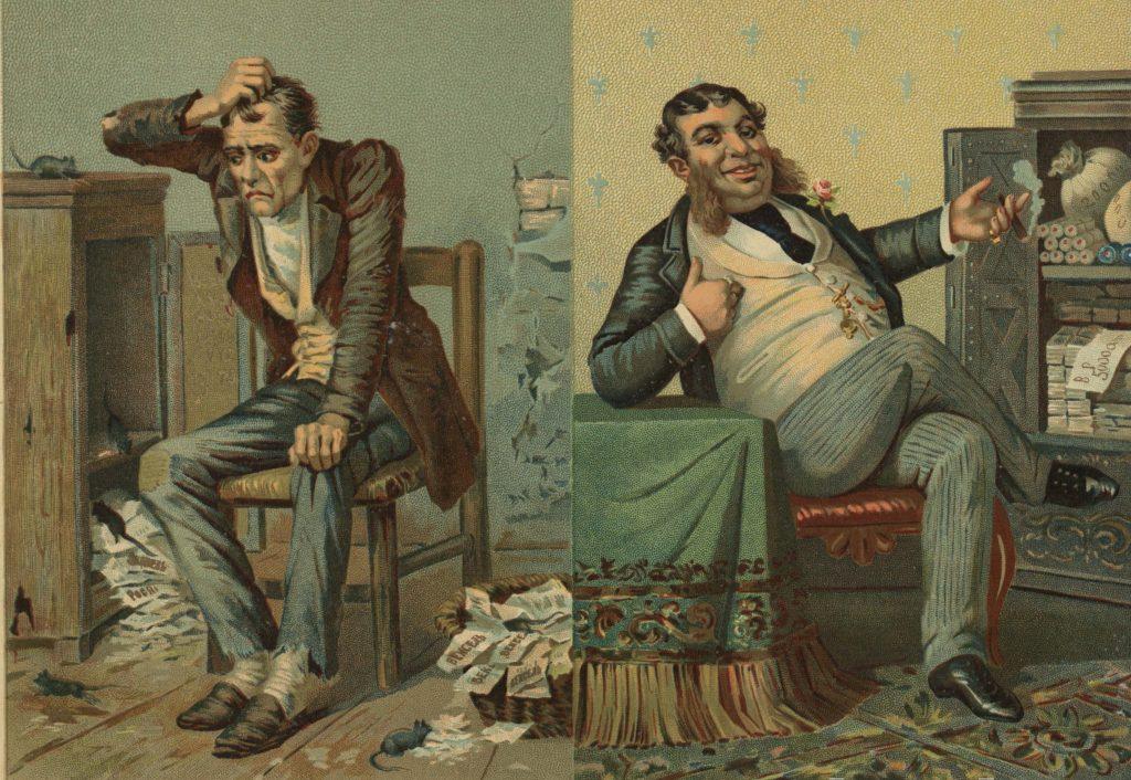 Богач и бедняк