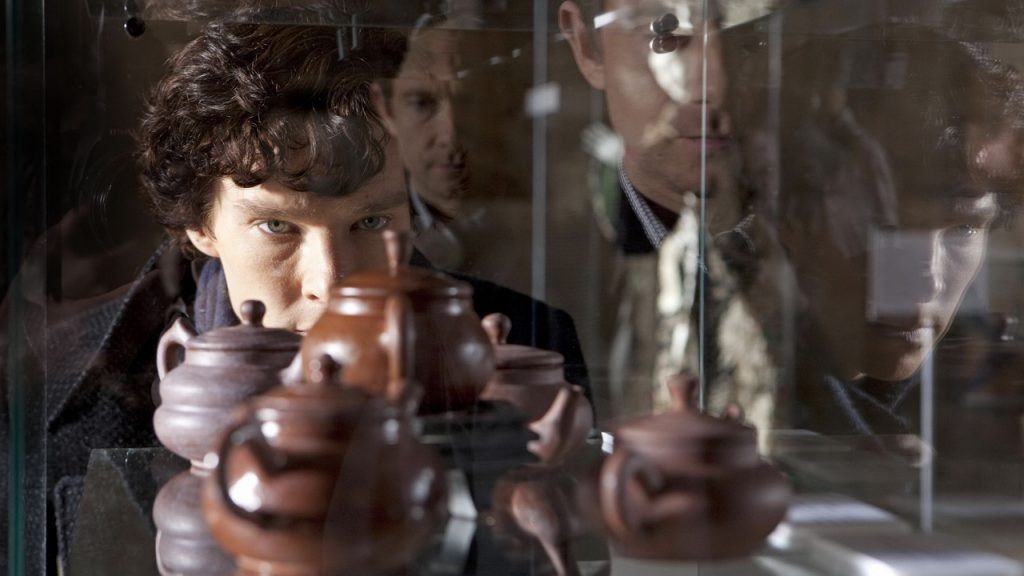 *This image is under embargo for publication not before 20th July 2010** Tx: BBC One TBC Picture shows: Benedict Cumberbatch as Sherlock Holmes. WARNING: Use of this copyright image is subject to the terms of use of BBC Pictures' BBC Digital Picture Service. In particular, this image may only be published in print for editorial use during the publicity period (the weeks immediately leading up to and including the transmission week of the relevant programme or event and three review weeks following) for the purpose of publicising the programme, person or service pictured and provided the BBC and the copyright holder in the caption are credited. Any use of this image on the internet and other online communication services will require a separate prior agreement with BBC Pictures. For any other purpose whatsoever, including advertising and commercial prior written approval from the copyright holder will be required.