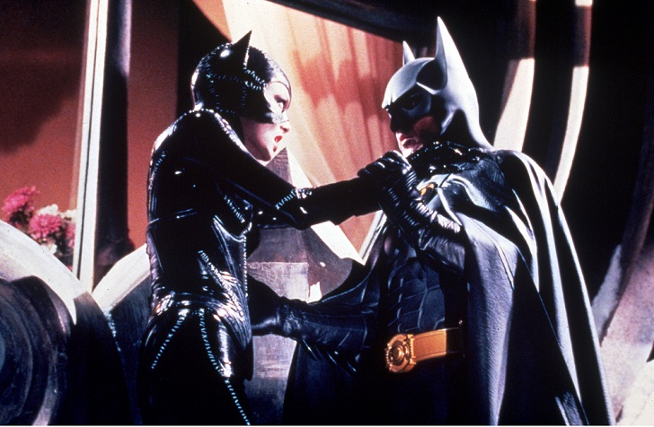 No Merchandising. Editorial Use Only Mandatory Credit: Photo by SNAP/REX Shutterstock (390889ag) FILM STILLS OF 'BATMAN RETURNS' WITH 1992, TIM BURTON, MICHAEL KEATON, MICHELLE PFEIFFER IN 1992 VARIOUS