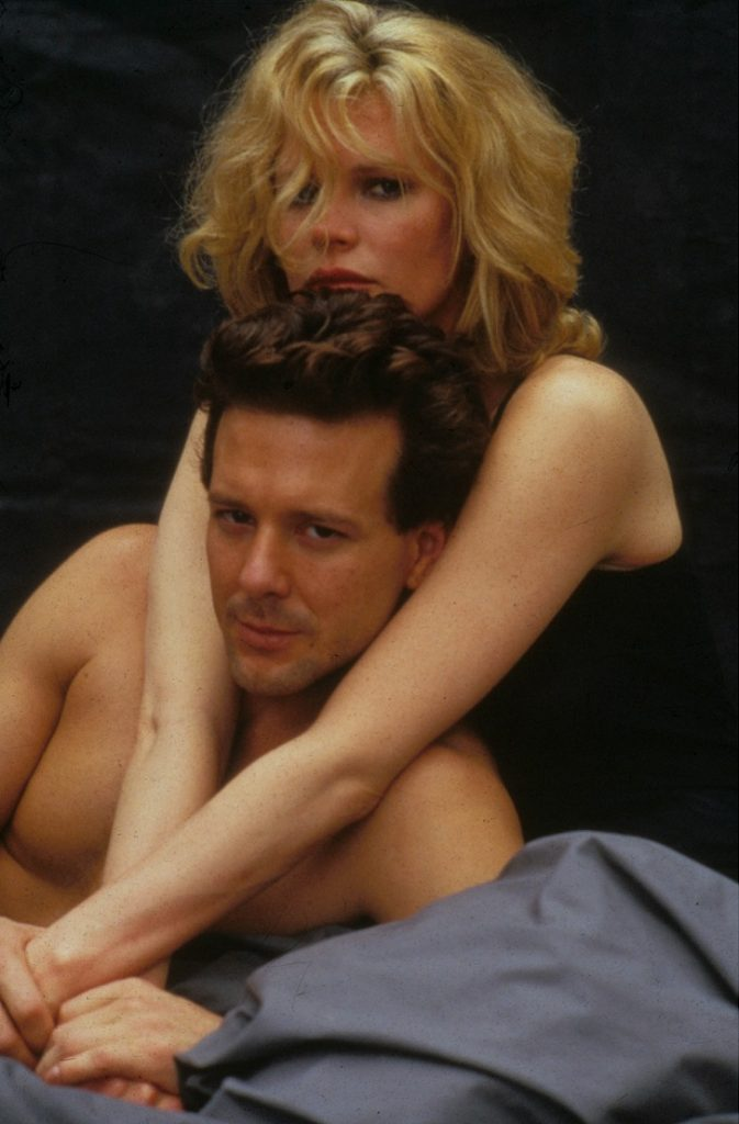 No Merchandising. Editorial Use Only. No Book Cover Usage. Mandatory Credit: Photo by Collection/REX Shutterstock (1557950a) 9 1/2 Weeks, Mickey Rourke, Kim Basinger Film and Television