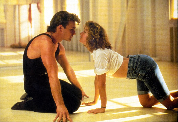 No Merchandising. Editorial Use Only. No Book Cover Usage. Mandatory Credit: Photo by Collection/REX Shutterstock (1548883a) Dirty Dancing, Patrick Swayze, Jennifer Grey Film and Television
