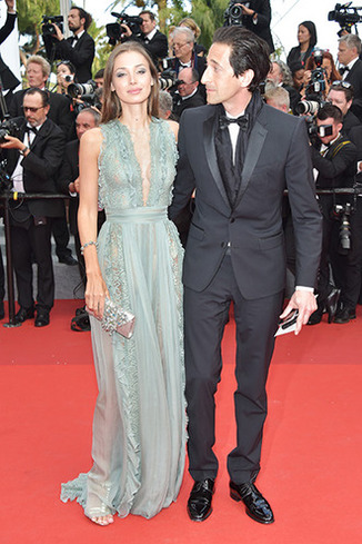 CANNES, FRANCE - MAY 23: Lara Lieto (L) and Adrien Brody attend the 70th Anniversary screening during the 70th annual Cannes Film Festival at Palais des Festivals on May 23, 2017 in Cannes, France. (Photo by Pascal Le Segretain/Getty Images)
