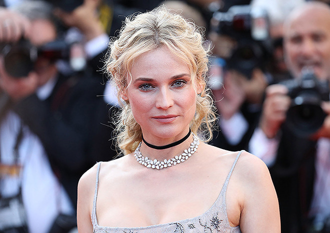 CANNES, FRANCE - MAY 23: Actor Diane Kruger attends the 70th Anniversary of the 70th annual Cannes Film Festival at Palais des Festivals on May 23, 2017 in Cannes, France. (Photo by Chris Jackson/Getty Images)