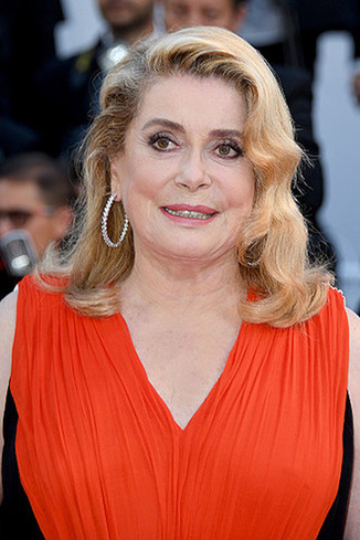 CANNES, FRANCE - MAY 23: Catherine Deneuve attends the 70th Anniversary of the 70th annual Cannes Film Festival at Palais des Festivals on May 23, 2017 in Cannes, France. (Photo by Stephane Cardinale - Corbis/Corbis via Getty Images)
