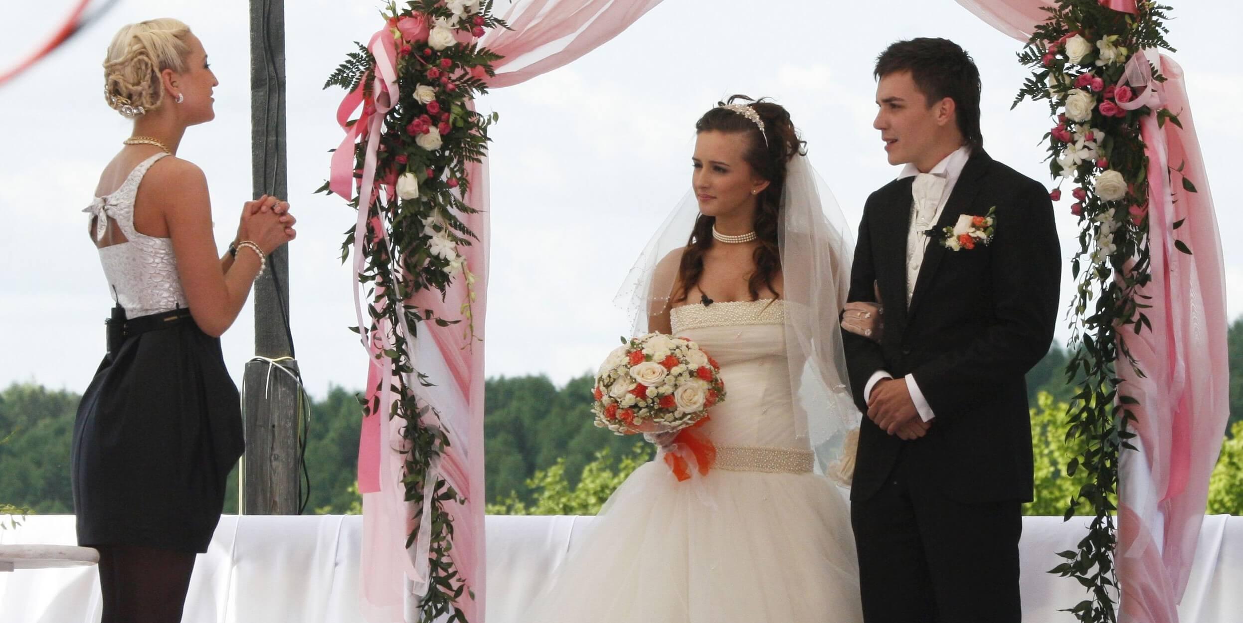 Фото риты агибаловой со свадьбы