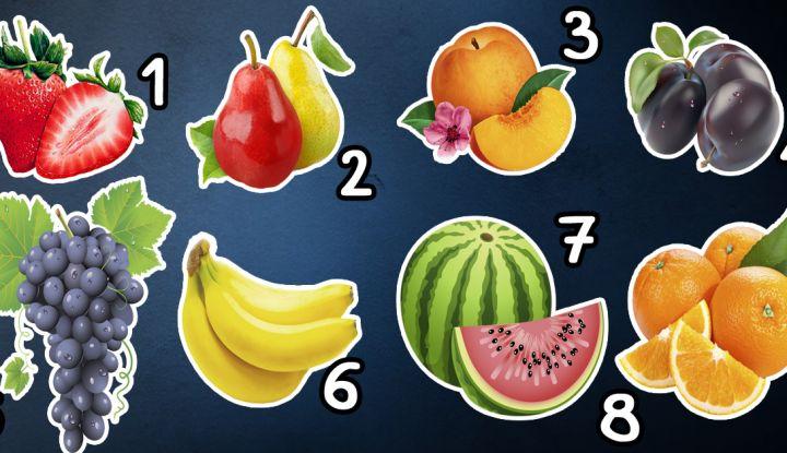 Сексуальные предпочтения по фруктам