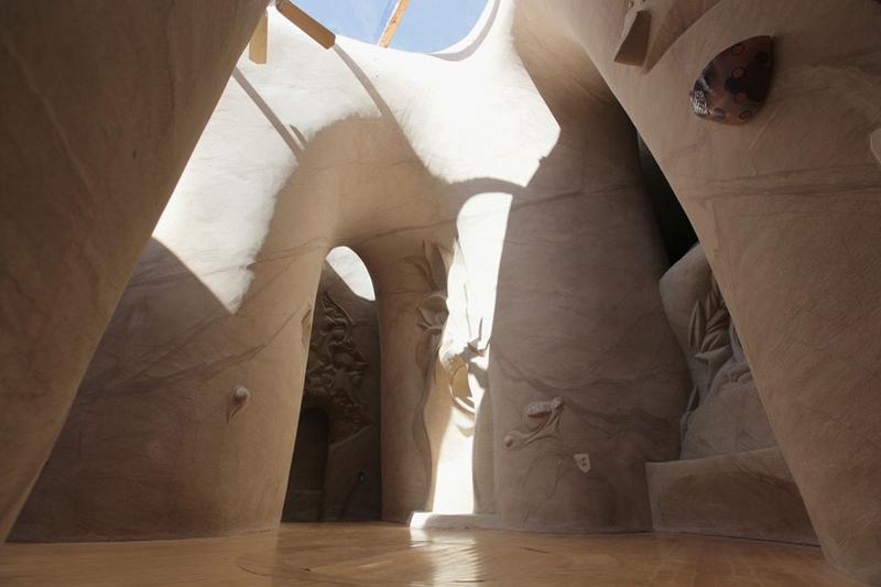 "CAVEDIGGER--An interior view shows one of artist Ra Paulette's sandstone art caves. Paulette is the subject of filmmaker Jeffrey Karoff's 2013 documentary, ""Cavedigger."" (photo courtesy of Jeffrey Karoff) wjohnson@abqjournal.com Wed Dec 04 16:23:14 -0700 2013 1386199391 FILENAME: 163492.jpg"